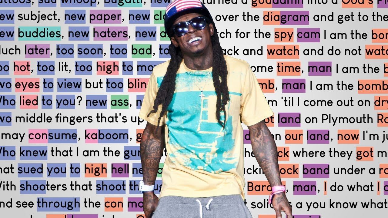 Lil Wayne - Dedicate | Rhymes Highlighted