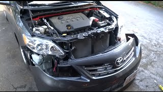 How To Remove The Front Bumper On The 2009-2013 Toyota Corolla