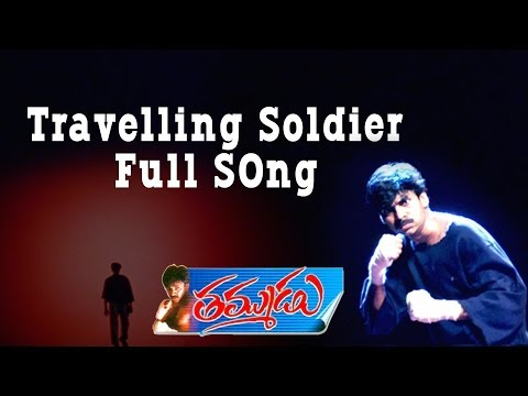 Travelling Soldier Full Song ll Thammudu Movie  ll Pawan Kalyan, Preethi Zingania