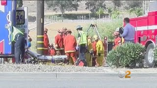 Road Rage Shooting? Mysterious Crash In Lake Elsinore