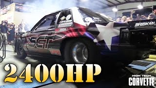Mike Murillo's 2419hp Mustang - Dyno Pull