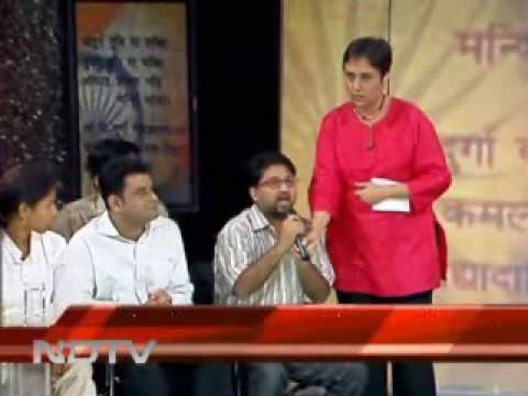 Azim_on_NDTV_we_the_people.wmv