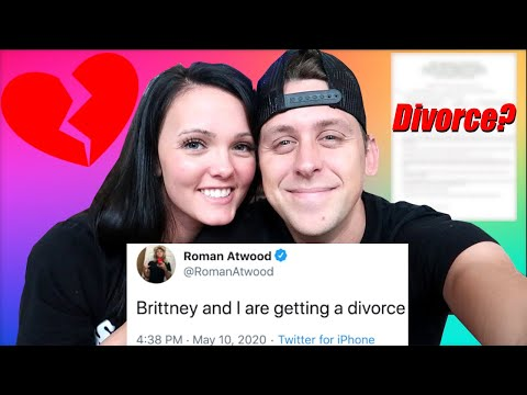 Roman Atwood And Brittney Got A DIVORCE?? (What Happened To Roman Atwood)