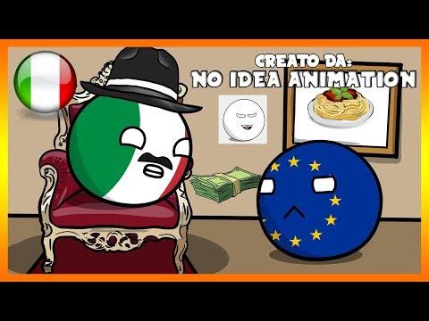 Corruzione in italia - Countryballs (DOPPIAGGIO ITA)