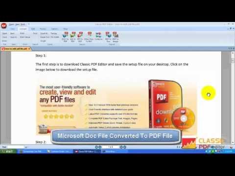 How to Convert a Microsoft Word Document to PDF Formatиз YouTube · С высокой четкостью · Длительность: 2 мин57 с  · Просмотры: более 26.000 · отправлено: 8-12-2015 · кем отправлено: Techinbuzz