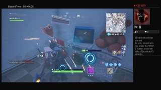 Fortnite ps4 game play #1