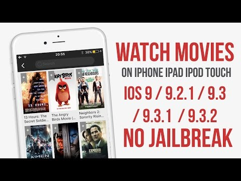 Watch Movies FREE 9 - 9.3.2 NO Jailbreak iPhone / iPad / iPod Touch