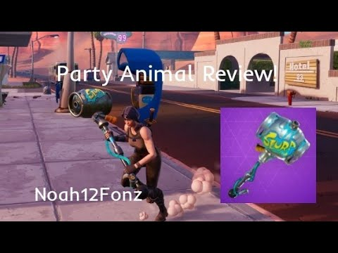 Party Animal Pickaxe Review!
