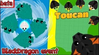 mope.io//BlackDragon Event//New Toucan update//sea monster Whirlpool of death//KOA event/testing