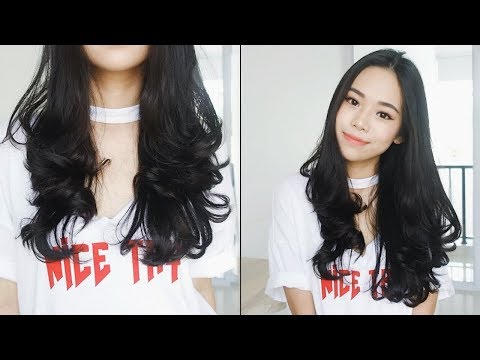 How I Curl My Hair Using Flat Iron | Everyday Instagram Hairstyle