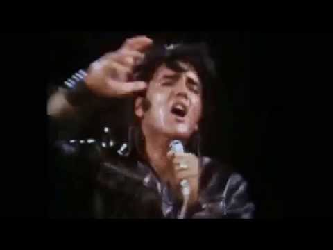 Elvis Presley If I Can Dream 68 Black With Orchestra