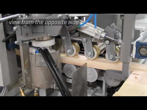 High (radio) frequency board press from Kallesoe Machinery
