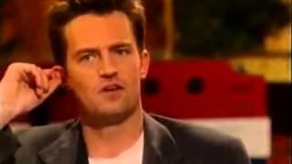 Gaby Roslin meets Friends Cast - Matthew Perry, Matt LeBlanc and David Schwimmer part 4
