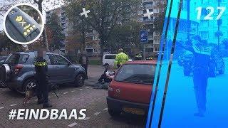 Eindbaas mee op straat. Politievlogger Jan-Willem. Politie. Korpschef