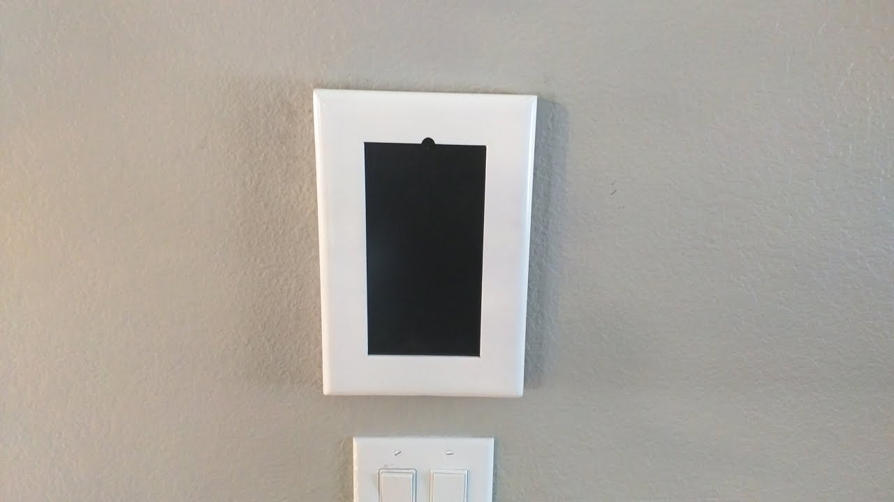 How To Install A Recessed Outlet For A Wall Mounted Tv Or