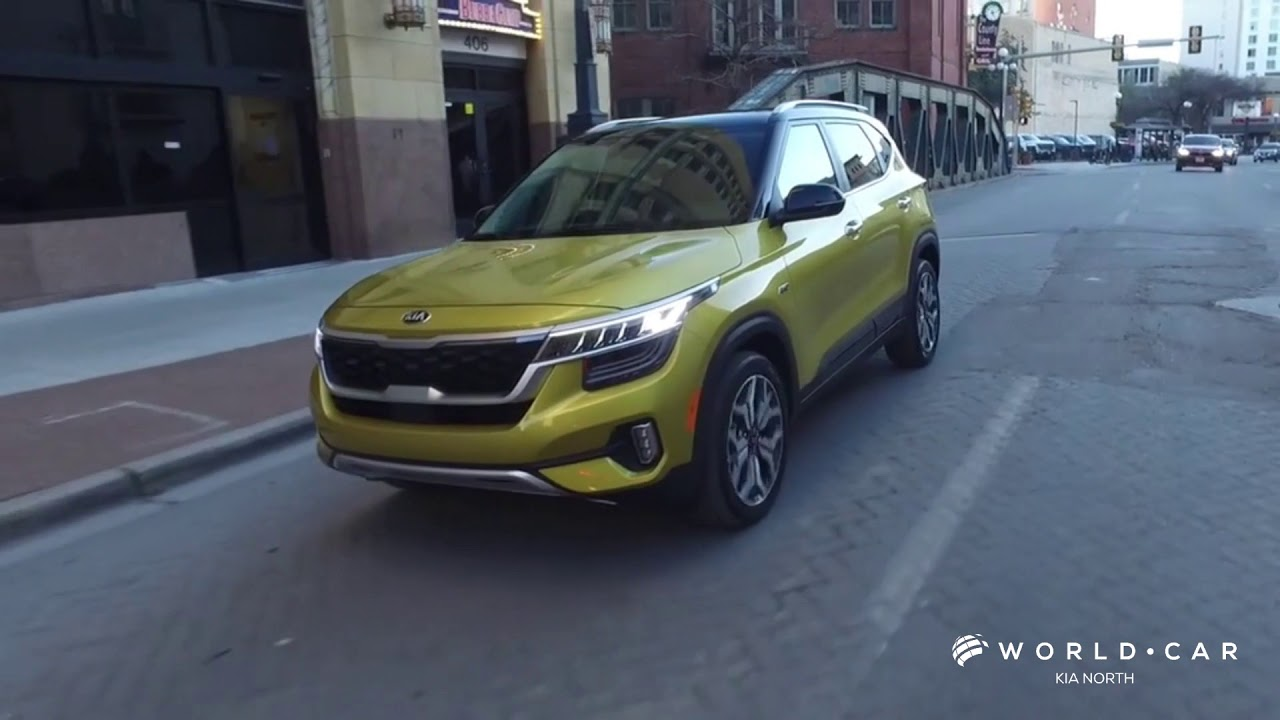 the allnew 2021 kia seltos  world car kia north  youtube