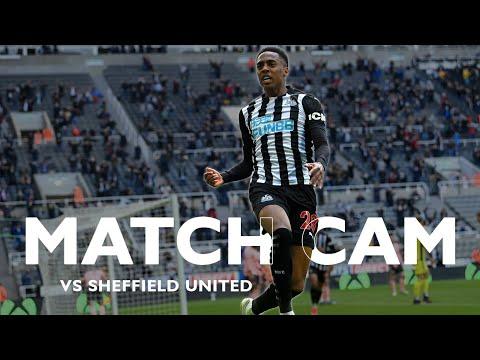 MATCH CAM 🎥 Newcastle United 1 Sheffield United 0 | Premier League Highlights