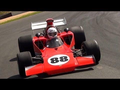 Formula 5000 - Lola T300 race car on track