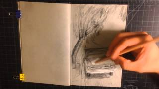 Time Lapse Drawing 1968 Chevy Truck