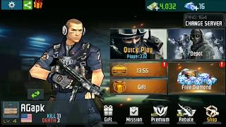 Force Strom : Fps Shooting Party Android Gameplay