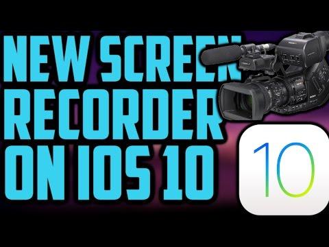 NEW Screen Recorder For IOS 9/10 Free No Jailbreak No PC IPhone IPad iPod