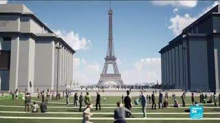 La mairie de Paris mène un projet de piétonnisation entre la Tour Eiffel et le Trocadéro