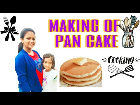 #making-of-pancake-#pan-cake-with-less-ingredients-#tasty-breakfast-pan-cake