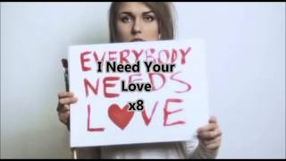 GJan - Need Your Love lyrics