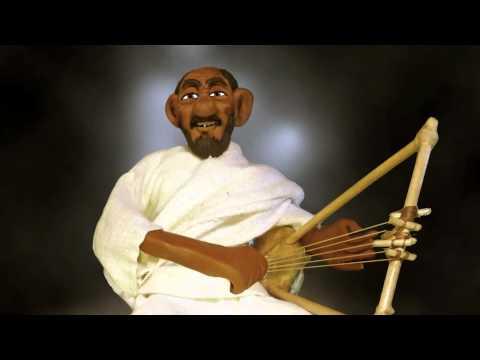 Ethiopian Animation - Kirar - old man singing