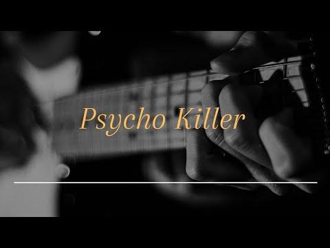 Talking Heads/Psycho Killer/Guitar Cover.