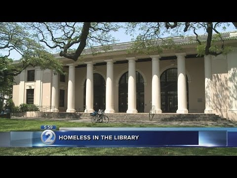 Hawaii libraries struggle with homeless problem
