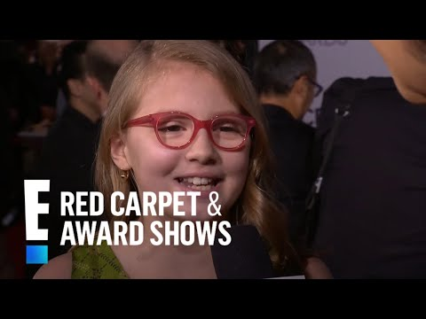 Bebe Wood on the Red Carpet