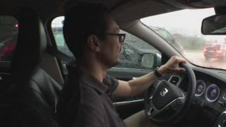 Orage et pluie sur Bruxelles | VLOGGING IN MY CAR #03