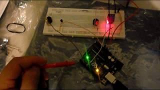 Sensor de temperatura y humedad con alarma en arduino