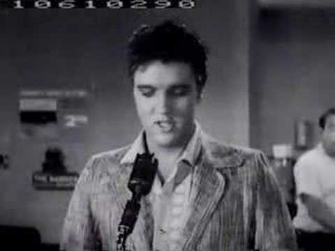 Elvis presley treat me nice lyrics