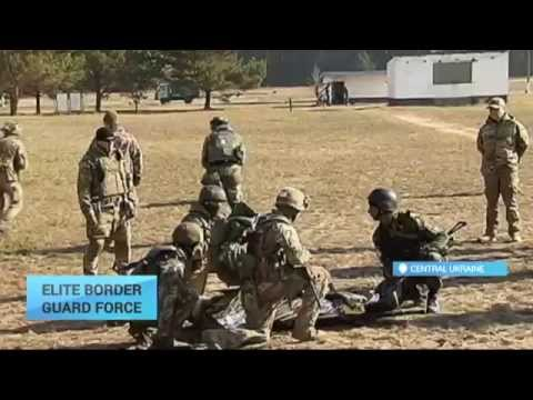 Ukraine Special Border Guard Force: Newly-trained unit showcases skills