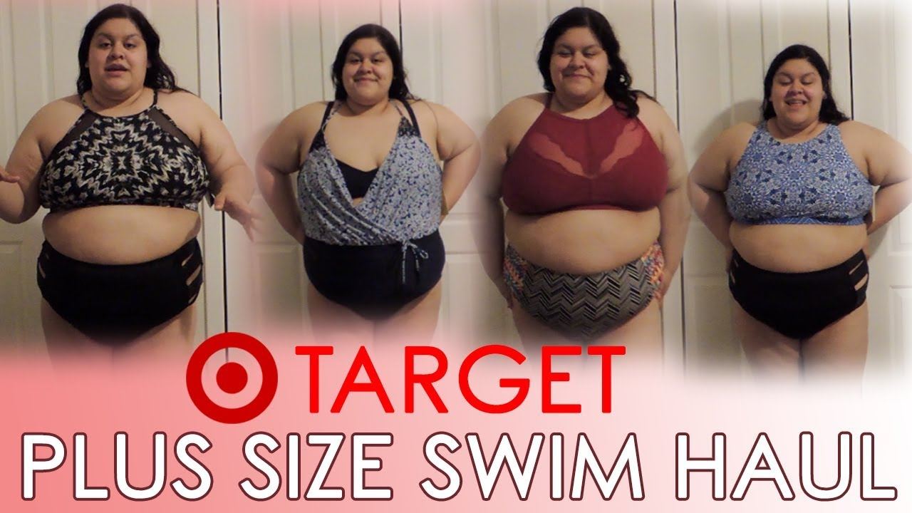 e77399f118a Target Swimsuit Try On Haul   Plus Size (2018)