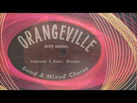 Orangeville High School Band & Mixed Chorus Record Album (1971)