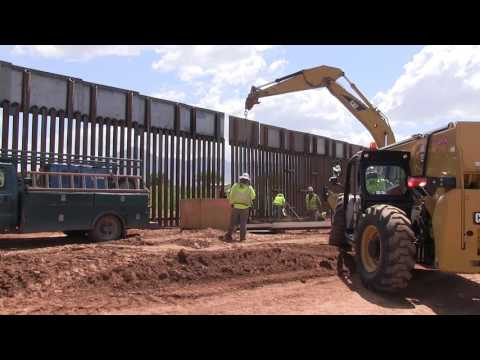 Naco, AZ Border Fence Replacement Complete