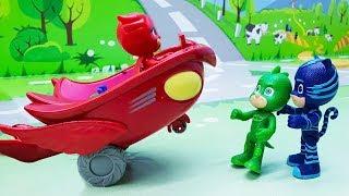 Герои в Масках - мультики с игрушками для детей