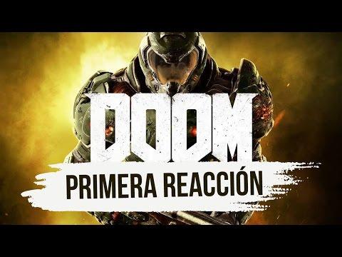 PRIMERA REACCIÓN CON EL NUEVO DOOM 💪💪 LIVE 2.0 #ENEUSDV