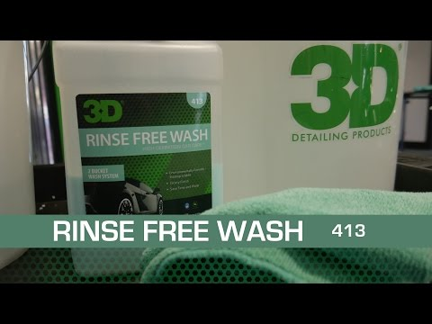 3D RINSE FREE WASH Lavado de autos sin enjuague.