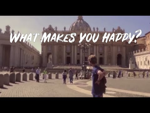 Documentary - A Travel Around The World To Ask What is Happiness