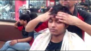 Relaxing Indian Head Massage in Mumbai June 2014