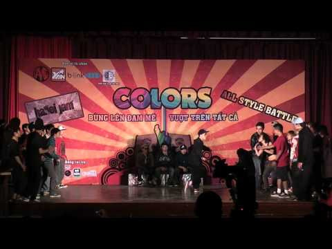 Hanoi Jam All Style Battle-Colours-The Winds vs Street Dance (Full version)