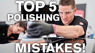Top 5 Paint Polishing Mistakes to Avoid! ATA 203