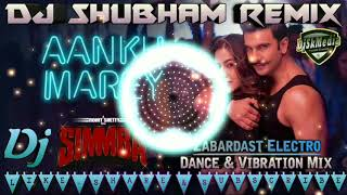 Aankh Marey Flp || Simmba Movie || Super Fast Dance & Vibration Mix || Dj Shubham Hajipur