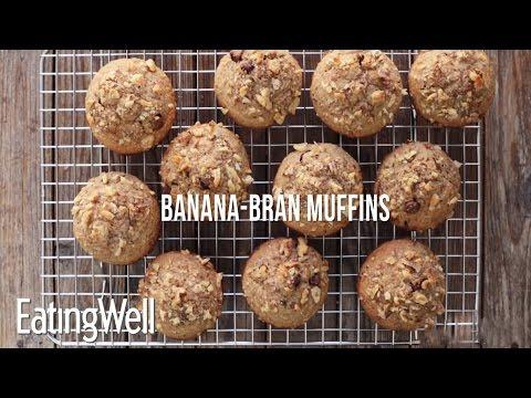 banana all bran muffins