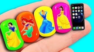 10 DIY Barbie Hacks: Barbie Headphones, Baby Stroller, Ballet Shoes, custom LOL hair and more! thumbnail