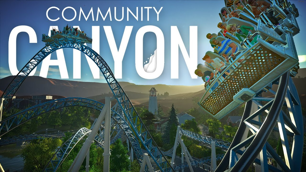 Community Canyon - The Collaborative Planet Coaster Theme Park